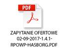 ZAPYTANIE OFERTOWE 02-09-2017-1.4.1-RPOWP-HASBORG