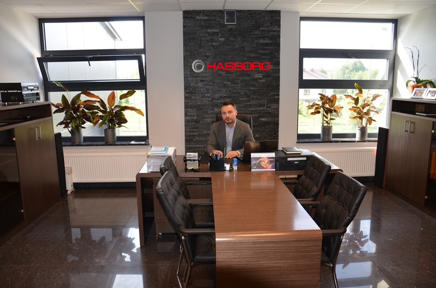 Biuro w firmie Hasborg
