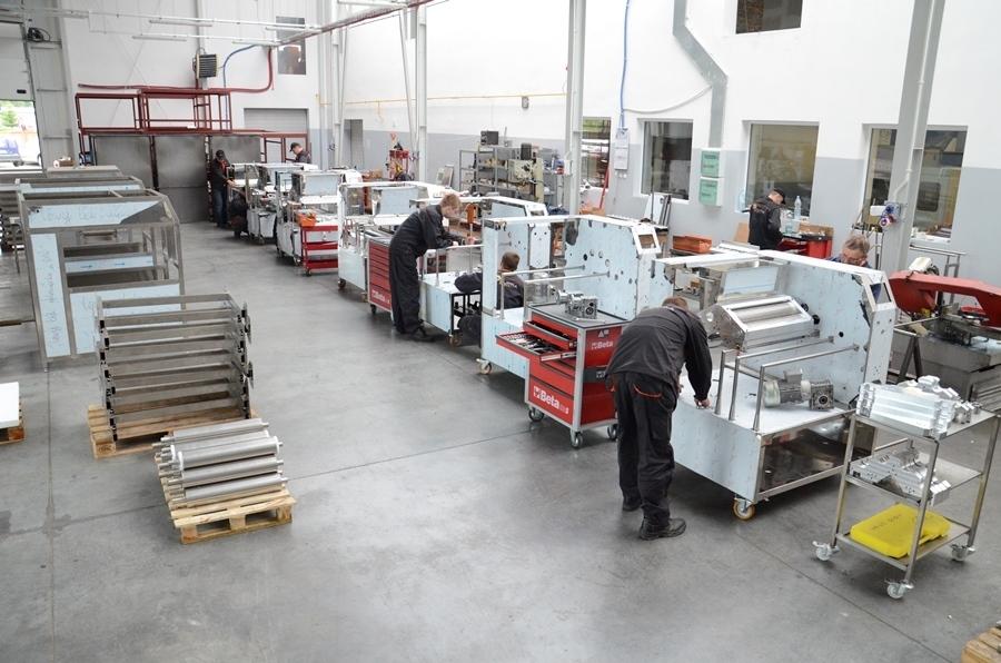 Produkcja maszyn w firmie Hasborg
